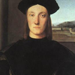拉斐爾(Raphael)高清作品:Portrait of Guidobaldo da Montefeltro, Duke of Urbino
