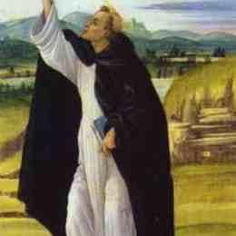 《圣多米尼克》山德羅·波提切利(Sandro Botticelli)高清作品欣賞