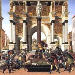 《露西蕾塔的故事》山德羅·波提切利(Sandro Botticelli)高清作品欣賞