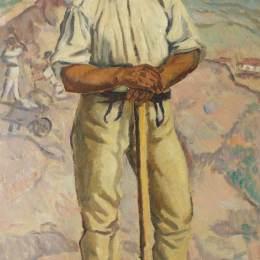 《石破碎機(農民肖像)》斯特凡-迪米特雷斯庫(Stefan Dimitrescu)高清作品欣賞