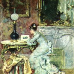 《看相冊》西奧多·阿曼(Theodor Aman)高清作品欣賞