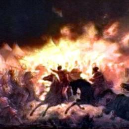 《火把之戰》西奧多·阿曼(Theodor Aman)高清作品欣賞