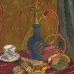 《哈勃泡泡的靜物》西奧多·帕拉迪(Theodor Pallady)高清作品欣賞
