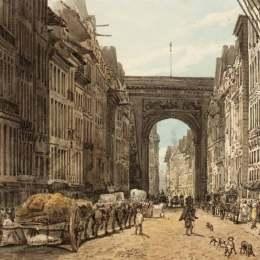 《圣丹尼斯大街》托馬斯·格爾丁(Thomas Girtin)高清作品欣賞