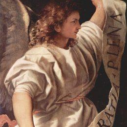《天使》提香·韋切利奧(Titian)高清作品欣賞
