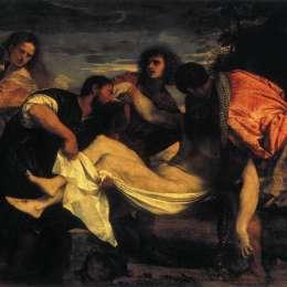 《基督的恩典》提香·韋切利奧(Titian)高清作品欣賞