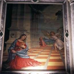 《報喜》提香·韋切利奧(Titian)高清作品欣賞