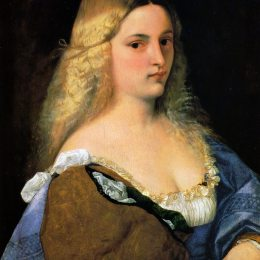 《薇奧蘭特》提香·韋切利奧(Titian)高清作品欣賞