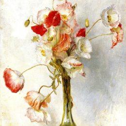 《罌粟花》湯姆·羅伯茨(Tom Roberts)高清作品欣賞