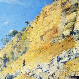 《瑪麗亞島闊里》湯姆·羅伯茨(Tom Roberts)高清作品欣賞