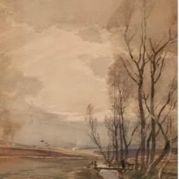 湯姆·斯科特(Tom Scott)高清作品:Whin Burning, Eden Water, Gordon Berwickshire