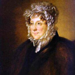 《戴帽子的老婦人肖像》瓦西里·特羅平寧(Vasily Tropinin)高清作品欣賞