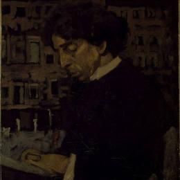 《以色列贊歌肖像》華特·席格(Walter Sickert)高清作品欣賞