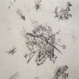 瓦西里·康定斯基(Wassily Kandinsky)高清作品:Small Worlds X