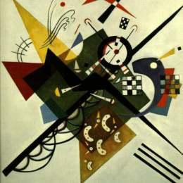 瓦西里·康定斯基(Wassily Kandinsky)高清作品:On White II
