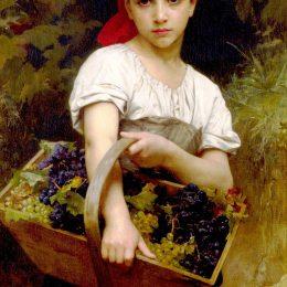 《收割機》威廉·阿道夫·布格羅(William-Adolphe Bouguereau)高清作品欣賞
