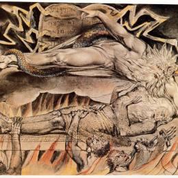 《作業書插圖》威廉·布萊克(William Blake)高清作品欣賞