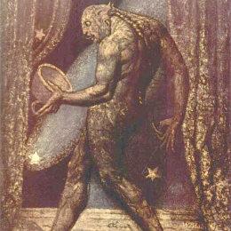 《跳蚤的幽靈》威廉·布萊克(William Blake)高清作品欣賞