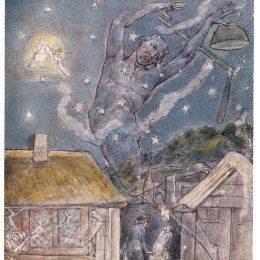 《妖精》威廉·布萊克(William Blake)高清作品欣賞