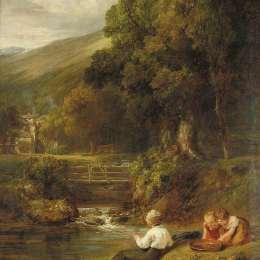 威廉·柯林斯(William Collins)高清作品:Borrowdale, Cumbria