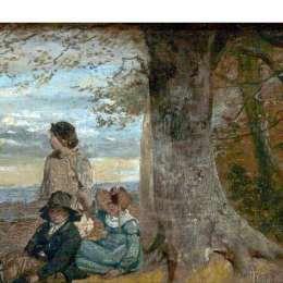 《樹下的三個孩子》威廉·柯林斯(William Collins)高清作品欣賞
