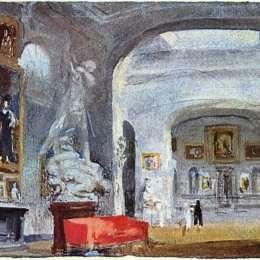 《挪威加利利》約瑟夫·馬洛德·威廉·透納(J.M.W. Turner)高清作品欣賞