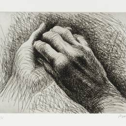 亨利·摩尔(Henry Moore)高清作品:The Artists Hand II