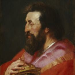 彼得·保罗·鲁本斯(Peter Paul Rubens)高清作品:Melchior, The Assyrian King