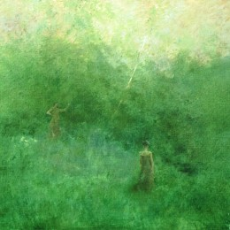 托马斯·杜因(Thomas Dewing)高清作品:The White Birich